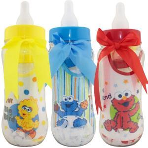 【おめでとうSALE】 セサミ ストリート ベビー8点 ギフトセット スタイ 哺乳瓶 出産祝い プレゼント ベビー 99000 (DM便不可)|paranino