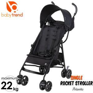 BabyTrend ロケットストローラー ブラックB型 軽量 ベビーカー コンパクト 22kgまで ベビートレンド  Princeton