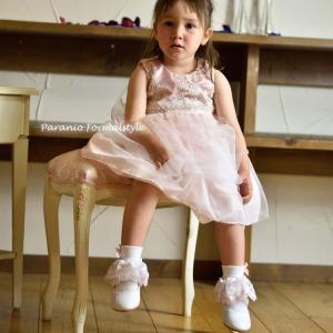 靴下 リボン付き レース ソックス 女の子 ホワイト ピンク レッド ライラック シルバー 8-17cm (DM便対応)|paranino