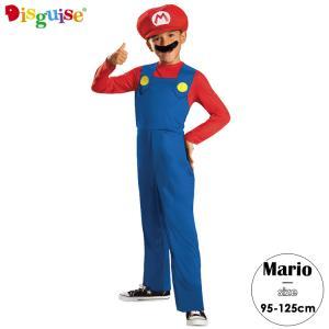 スーパーマリオ ブラザーズ マリオ ハロウィン コスチューム 男の子 95-125cm 子供 衣装 ...