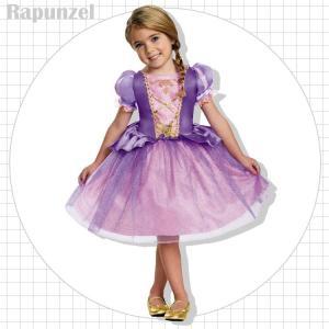 コスチューム 女の子 子供 80-125cm ディズニー プリンセス ラプンツェル disney_y|paranino