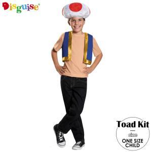 ハロウィン 衣装 子供 コスチューム スーパーマリオ キノピオ 男の子 ワンサイズ Disguise 85229 paranino