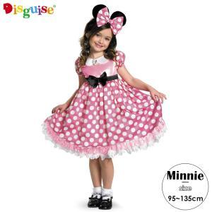 コスチューム 女の子 子供 95-135cm ディズニー ミニーマウス disney_y|paranino
