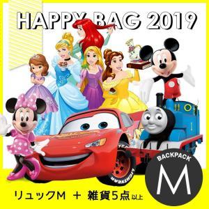福袋 キッズ 2019 ディズニー キャラクター ハッピーバッグ (バックパック M) HAPPY BAG|paranino