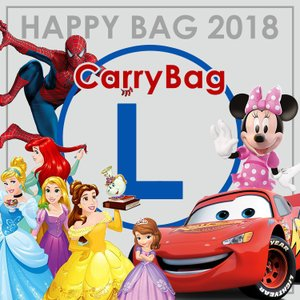 HAPPY BAG ディズニー キャリーバッグ 福袋 Lサイズ