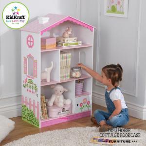 ドールハウス ブックケース 本棚 木製 収納 子供用家具 キッドクラフト kidkraft 14604|paranino