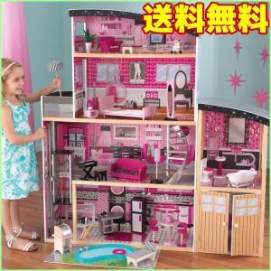 スパークル マンション ドールハウス お人形のお家 木のおもちゃ キッドクラフト kidkraft 65826|paranino