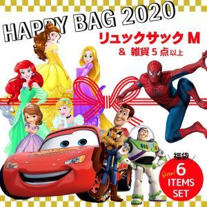 バッグ 福袋 2020 キッズ ディズニー キャラクター ハッピーバッグ 男の子 女の子 リュックサ...