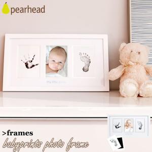 メーカー:pearhead サイズ:フレーム W43.2×H24×D1.5 cm / インクパッド ...