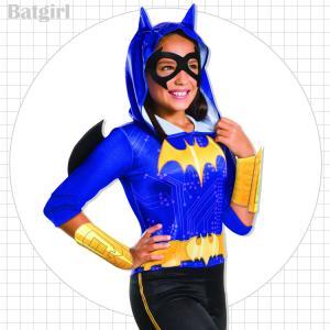 バットガール コスチューム 105-150cm 女の子 かわいい ハロウィン 仮装 子供 衣装 コス...