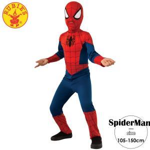 スパイダーマン 男の子 105-150cm ルービーズ コスチューム マーベル paranino