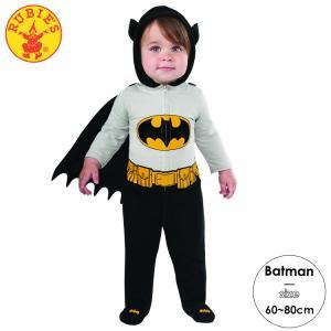 バットマン ロンパース コスチューム 60-80cm 男の子 女の子 ベビー ルービーズ ハロウィン...