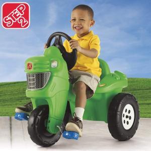 乗物玩具 三輪車 STEP2 ペダル ファーム トラクター|paranino