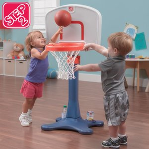 スポーツ遊具 玩具 シュートフープ Jr. バスケットボール セット STEP2 7356WM paranino