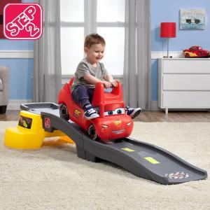 遊具 乗用玩具 車 ディズニー ピクサー カーズ3 ローラーコースター STEP2 874800 /配送区分B paranino