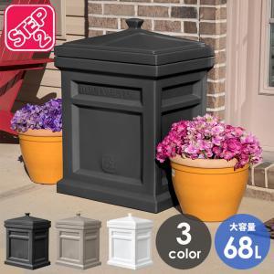 宅配ボックス 簡易設置 大型 エクスプレス パーセル デリバリー ボックス 3色 ホワイト ブラック モカ 戸建 大容量 STEP2 /配送区分A paranino
