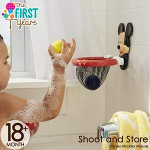 ディズニー ミッキーマウス お風呂であそぼ! バスケットゴール バストイ お風呂 おもちゃ (DM便不可)|paranino