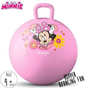 ホッピングボール ディズニー ミニーマウス 4歳から バランスボール 乗用玩具 ジャンプボール|paranino