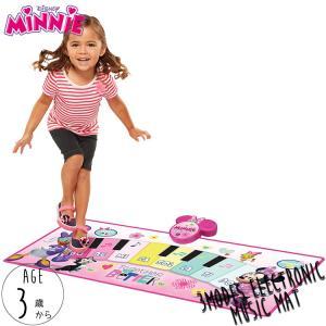 ミュージック ピアノマット ディズニー ミニーマウス ピアノ おもちゃ タップピアノ 足で弾く 3歳から disney_y|paranino