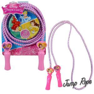 定形外送料無料/ なわとび ディズニー プリンセス デラックス 縄跳び 子供用 ジャンプロープ