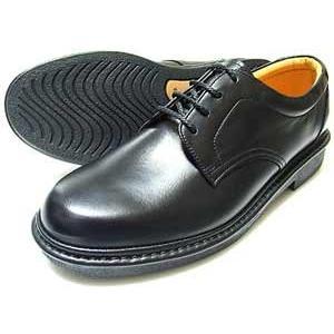 Rinescante Valentiano 本革 プレーントウ ビジネスシューズ(革靴 紳士靴)黒|parashoe