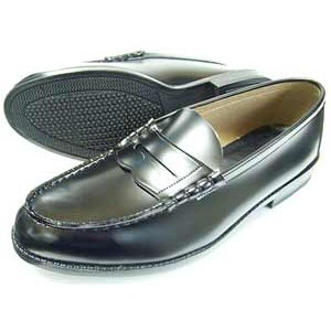 TALPA クラリーノ ローファー ビジネスシューズ 黒 3E(EEE) 28cm(28.0cm) 29cm(29.0cm) 30cm(30.0cm) 31cm(31.0cm)/学生靴 通学靴 紳士靴|parashoe