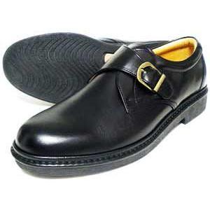 Rinescante Valentiano 本革 モンクストラップ ビジネスシューズ(大きいサイズ 革靴 紳士靴)黒 4E 27.5cm 28cm(28.0cm)29cm(29.0cm)30cm(30.0cm) parashoe