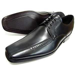 ANTONIO DUCATI 革底 スワールモカ ビジネスシューズ(大きいサイズ 革靴 紳士靴)黒 3E(EEE) 27.5cm 28cm(28.0cm) 29cm(29.0cm) 30cm(30.0cm)|parashoe