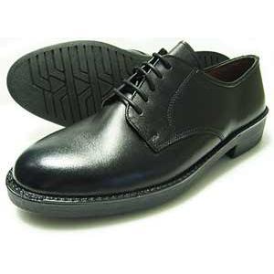Mr.Cornell 本革 プレーントゥ ビジネスシューズ(小さいサイズ 革靴 紳士靴)黒 22cm(22.0cm) 22.5cm 23cm(23.0cm) 23.5cm 24cm(24.0cm)|parashoe