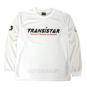 メール便OK TRANSISTAR(トランジスタ) HB20TS01 ハンドボールウェア 長袖Tシャツ DRY L/S Tシャツ HEX-ICON|paraspo
