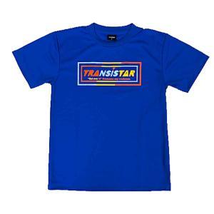 メール便OK TRANSISTAR(トランジスタ) HB20TS03 HB DRY L/S Tシャツ MIS-MATCH ハンドボールウェア ブルー|paraspo