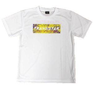 メール便OK TRANSISTAR(トランジスタ) HB20TS08 HB DRY Tシャツ ROUGH ハンドボールウェア ホワイト|paraspo