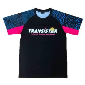 メール便OK TRANSISTAR(トランジスタ) HB20ST03 HB ゲームシャツ CRYPTOGRAH ハンドボールウェア|paraspo