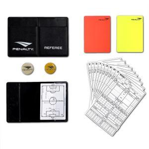 メール便OK PENALTY(ペナルティ) PE1510 レフリーカード ケースセット 審判カード サッカーアクセサリー|paraspo
