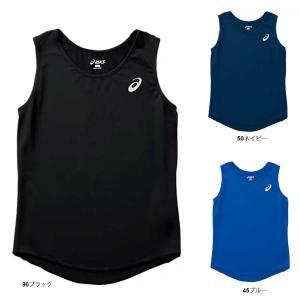 メール便OK □ASICS(アシックス) XT2034 ウイメンズ ランニングシャツ レディース タンクトップ ノースリーブ|paraspo