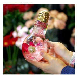 光るハーバリウム 電球型 LED付きハーバリウム イルミネーション 電池付き 父の日  誕生日プレゼント 花 結婚祝い 新築祝い プリザーブドフラワー|paravoce|07
