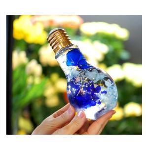光るハーバリウム 電球型 LED付きハーバリウム イルミネーション 電池付き 父の日  誕生日プレゼント 花 結婚祝い 新築祝い プリザーブドフラワー|paravoce|08