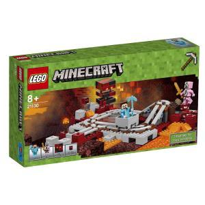レゴ LEGO マインクラフト 暗黒界の線路 21130 M...