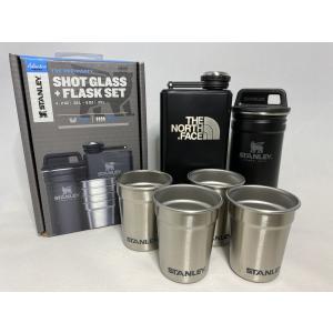 ノースフェイス スタンレー ショットグラス フラスクセット ブラック 日本未発売 スキットル THE...
