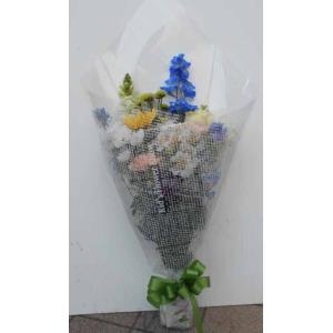 時期によりお花の組み合わせが違う場合があります。 お花の長さ約50cm -和風-  法事・ご仏前・...