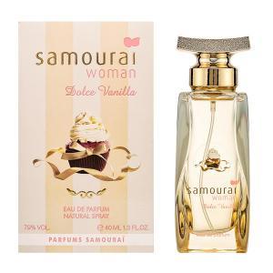 アランドロン Samourai Woman サムライウーマン ドルチェバニラ EDP SP 40ml Dolce Vanilla 【香水フレグランス】|parfumearth