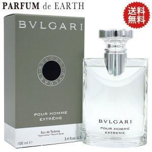 香水 メンズ 送料無料 ブルガリ BVLGARI ブルガリ プールオム エクストリーム EDT SP 100ml|parfumearth