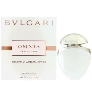 ブルガリ BVLGARI オムニア クリスタリン EDT SP 25ml ジュエルチャーム 【香水フレグランス 母の日 ギフト】|parfumearth