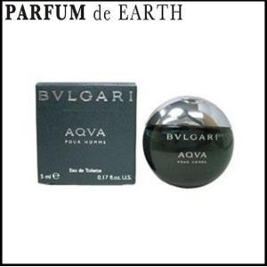 ブルガリ BVLGARI アクア プールオム EDT BT 5ml 香水 お試し ミニボトル 【香水 メンズ】|parfumearth