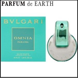 ブルガリ BVLGARI オムニア パライバ オードトワレ EDT SP 40ml 【香水フレグランス 母の日 ギフト】|parfumearth