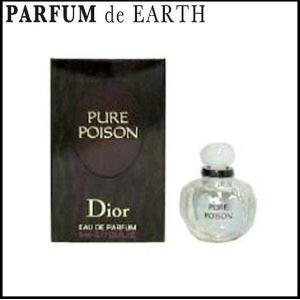 クリスチャン ディオール ピュアプワゾン EDP BT 5ml ミニ香水 ボトル 【香水フレグランス】|parfumearth