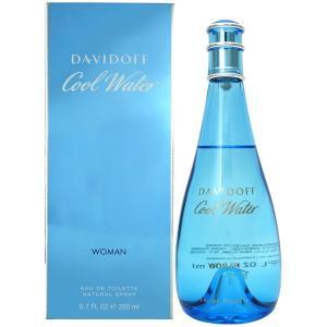 ダビドフ DAVIDOFF クールウォーター ウーマン EDT SP 200ml COOL WATER WOMAN 【香水フレグランス】|parfumearth