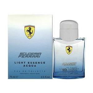 フェラーリ ライトエッセンス アクア EDT SP 75ml 【香水フレグランス 新生活】|parfumearth