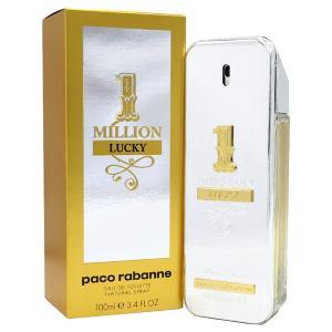 パコ ラバンヌ PACO RABANNE ワンミリオン ラッキー EDT 100ml 送料無料 1 MILLION LUCKY FOR HIM 【香水フレグランス】|parfumearth