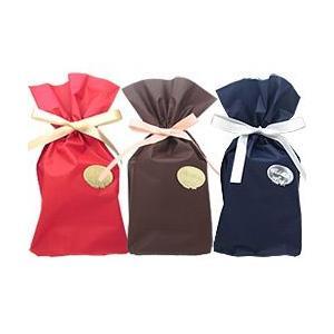 ラッピング袋(ビニール製巾着袋)【赤・ネイビー・ブラウンよりお選び下さい】 【香水フレグランス】|parfumearth